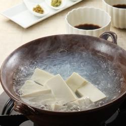 春雨入り湯豆腐
