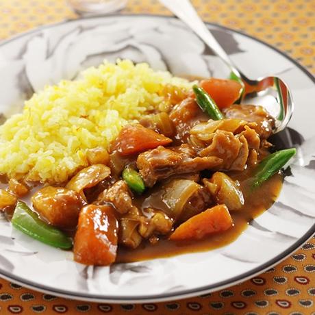 チキンと春野菜のカレー