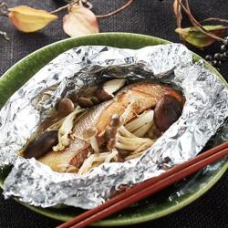 秋鮭のホイル焼き