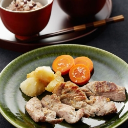 塩麹豚のソテー