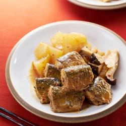 さんまと大根のピリ辛味噌煮