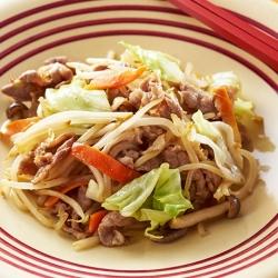 定番! 肉野菜炒め