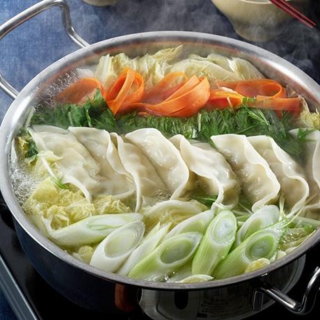 創味シャンタンDE餃子鍋
