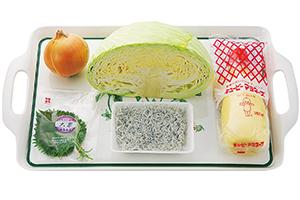 春キャベツとしらすのサラダ