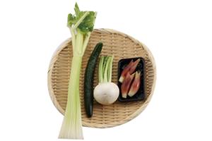 夏野菜の即席漬