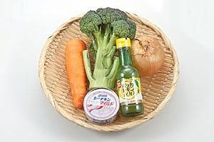 ブロッコリーと人参のツナサラダ