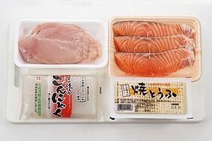 鮭の田舎鍋