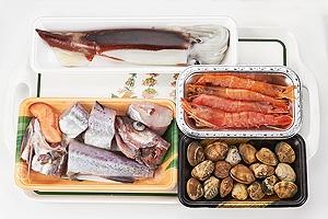 魚介類とトマトのスープ鍋