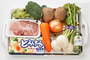 ごろごろ野菜のクリームシチュー