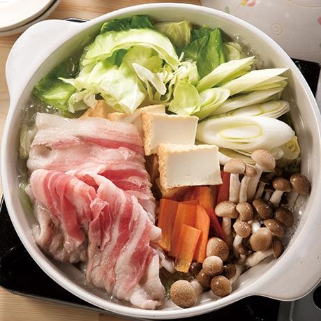 豚肉の生姜鍋