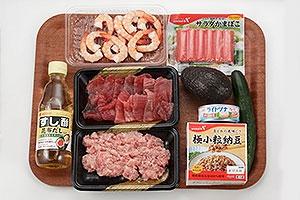 七夕 デコ手巻き寿司