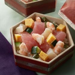桜まぐろのちらし寿司