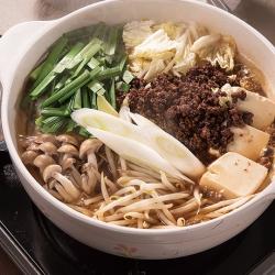 生姜坦々鍋