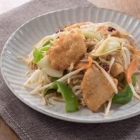 鶏胸肉と野菜の味噌炒め