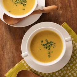 ごぼうと牛乳の味噌バタースープ