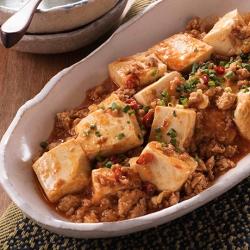 トマト味噌麻婆豆腐