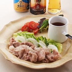 春野菜たっぷりの豚肉サラダ