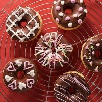 チョコ焼きドーナッツ