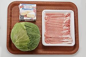 キャベツと豚肉のミルフィーユ鍋