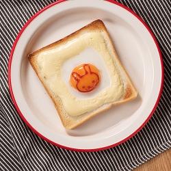 イースター目玉焼トースト