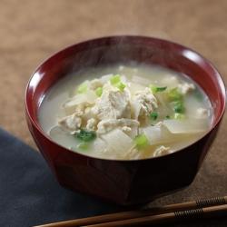 大根と豆腐の炒め汁