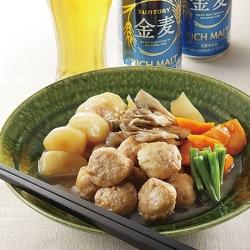 鶏肉団子の煮物