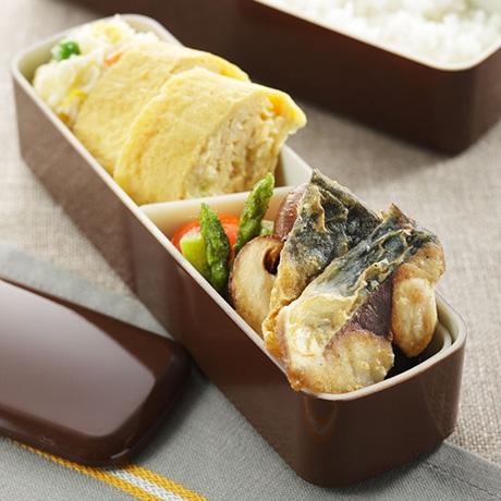 鯖のカレー焼き弁当