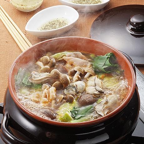 豚肉と野菜のあっさりイタリアン鍋