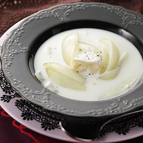 玉ねぎのクリームスープ