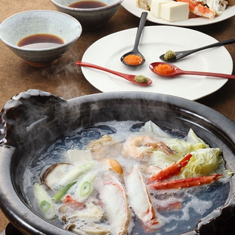 海鮮かにちり鍋