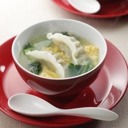 丸鶏スープ餃子(中華風)