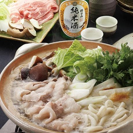 豚肉の酒鍋
