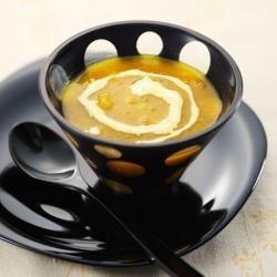 かぼちゃの中華風スープ