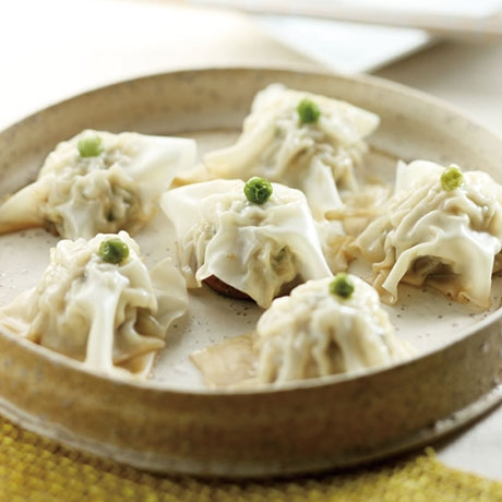 小松菜と椎茸のシュウマイ