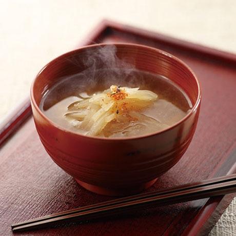 炒め大根の味噌汁