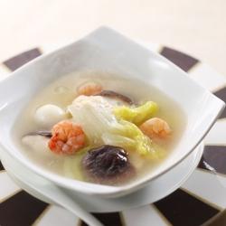 白菜の中華風スープ