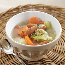 ウインナーと野菜のスープ煮
