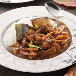 ブリと彩り野菜のディナーカレー