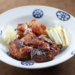 鯖とこんにゃくの味噌煮