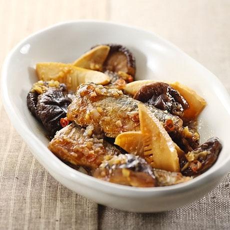 秋刀魚の醤油煮