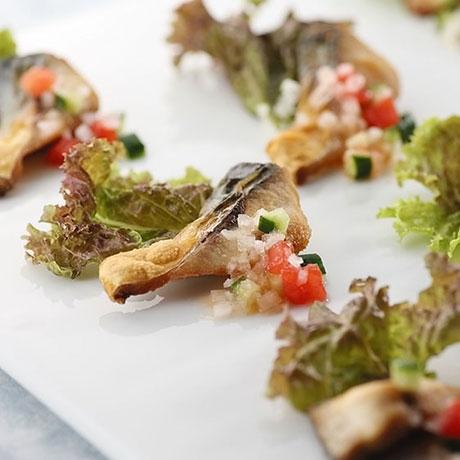 鯖のパリパリ・サラダ