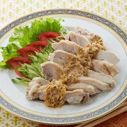 野菜たっぷり棒々鶏(バンバンジー)