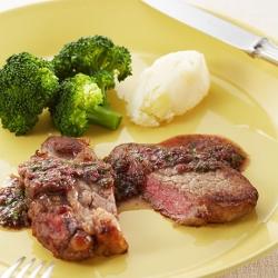 牛肉のマリネステーキ