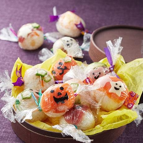 ハロウィンのキャンディすし