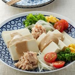 ツナと豆腐のサラダ