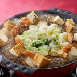 白菜のしのだ鍋