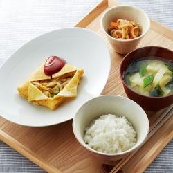 和食で朝ごはん