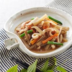 いかと根菜の煮物