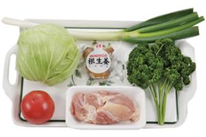 鶏唐揚げ・ねぎソース