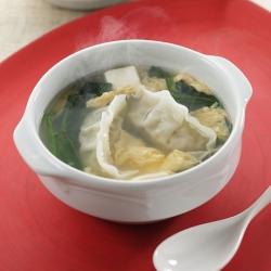 あっさり丸鶏スープ餃子